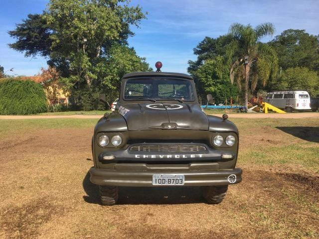 Caminhão Chevrolet 1963 raro impecável - Foto 3