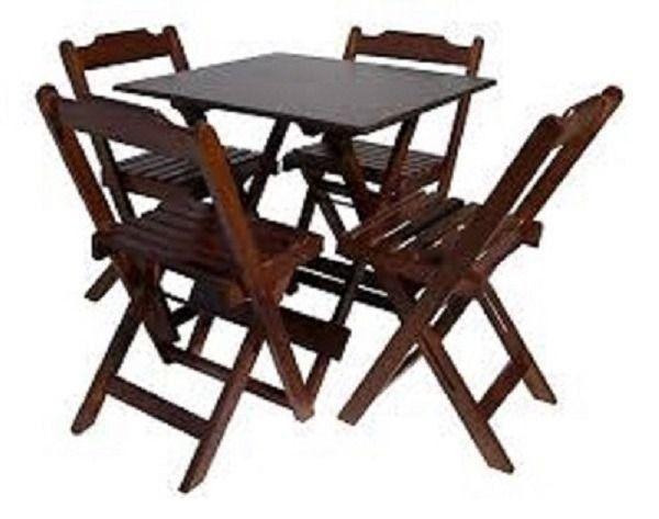 Mesas e Cadeiras Dobráveis Direto da Fábrica - Foto 2