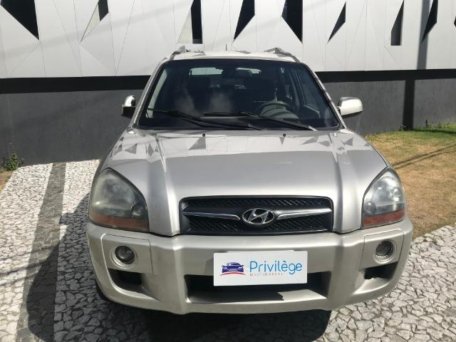 I/Hyundai Tucson GL 2009 COM Kit GAS Prata Muito Conservada