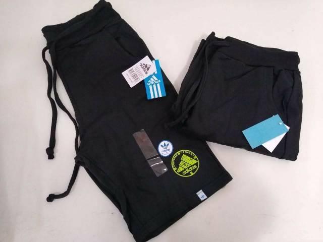 Bermudas Moletom Adidas Presente  - Foto 2