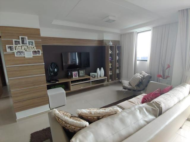 Apartamento 89m na beira mar do Cabo Branco - Foto 6