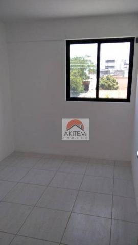 Apartamento com 3 quartos para alugar, 64 m² por R$ 1.800/mês - Casa Caiada - Olinda/PE - Foto 14