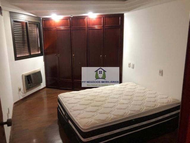 Apartamento com 4 dormitórios para alugar, 190 m² por R$ 2.700/mês - Centro - São José do  - Foto 4
