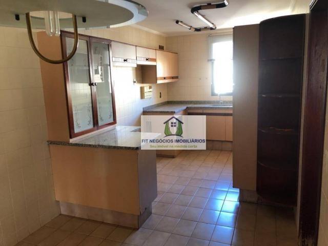 Apartamento com 4 dormitórios para alugar, 190 m² por R$ 2.700/mês - Centro - São José do  - Foto 9