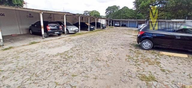 Apartamento com 2 dormitórios para alugar, 46 m² por R$ 650,00/mês - Edson Queiroz - Forta - Foto 9