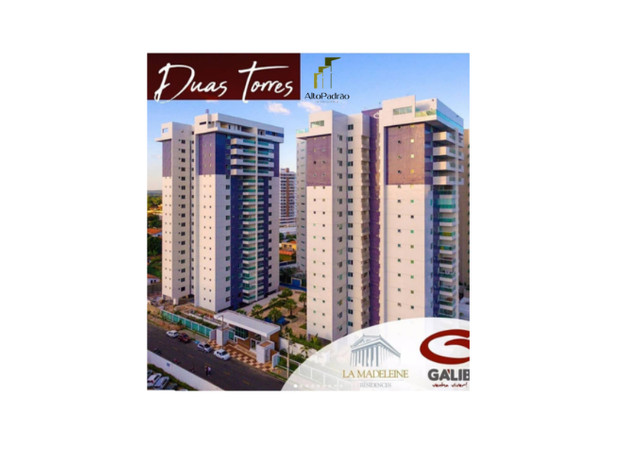 Apartamento no Condominio La Madeleine - Teresina - PI