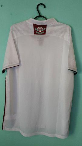 Camisa do Fluminense Branca Masculina 2020/21 - Foto 4