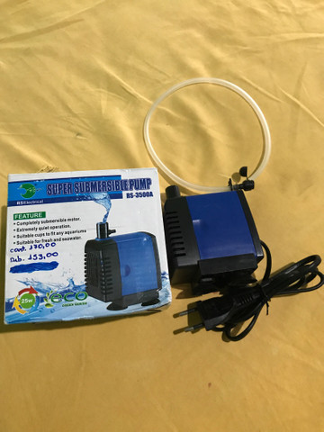Bomba submersa RS-3500A (ideal para aquário e lagos) - Foto 3