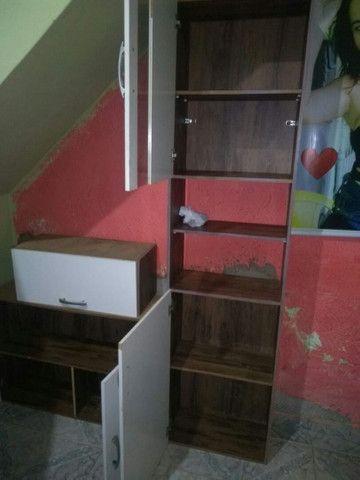 Bicama +armario+mesa c/4cadeiras e a mesi ha e cama box - Foto 6