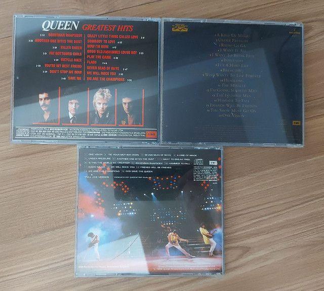 QUEEN - 3 CDS E 2 DVDS EM PERFEITO ESTADO !!! - Foto 2