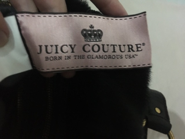 Bolsa luxo de couro legitimo juicy couture - Foto 3