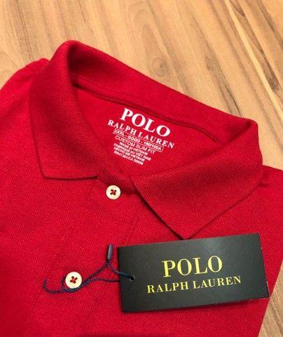 Camisa polo Tamanhos PLus Polo Ralph  - Foto 3
