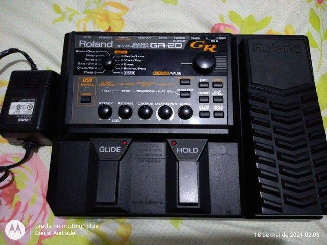 Syntetizado para guitarra GR 20 da roland - Foto 3