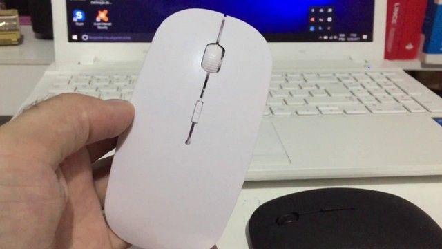 Mouse sem Fio Slim 2.4 ghz - Super Prático