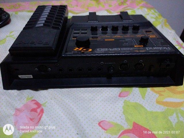 Syntetizado para guitarra GR 20 da roland - Foto 2