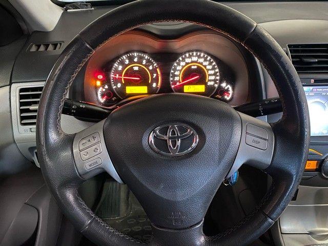 Toyota Corola Gli 2013 - Blindado - Automático  - Foto 13