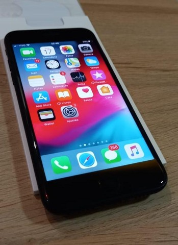 Iphone 7 - 32 GB preto  - Foto 6