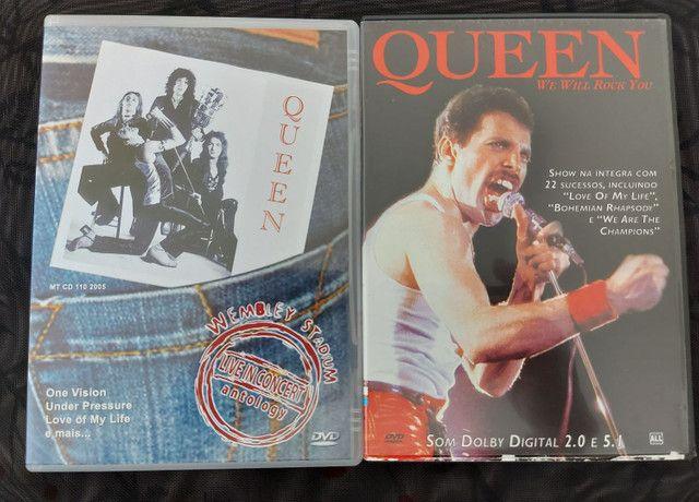 QUEEN - 3 CDS E 2 DVDS EM PERFEITO ESTADO !!! - Foto 3