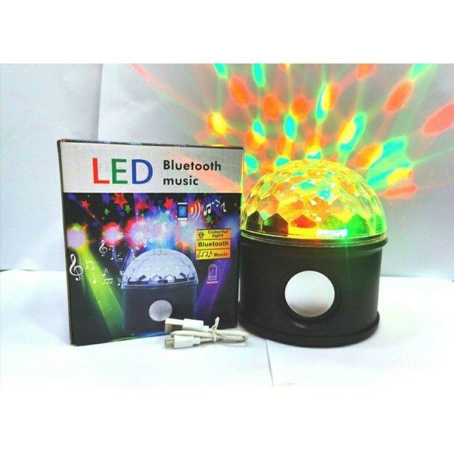 Globo de Luz c/ Caixa de Som Bluetooth - Foto 2