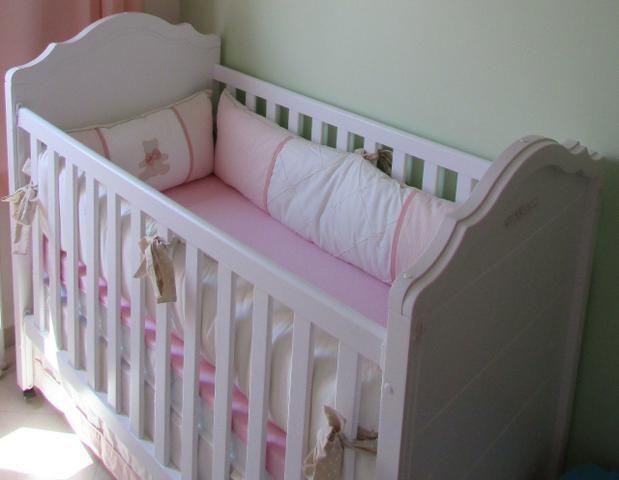 Berço cama Juliette transformável + colchão