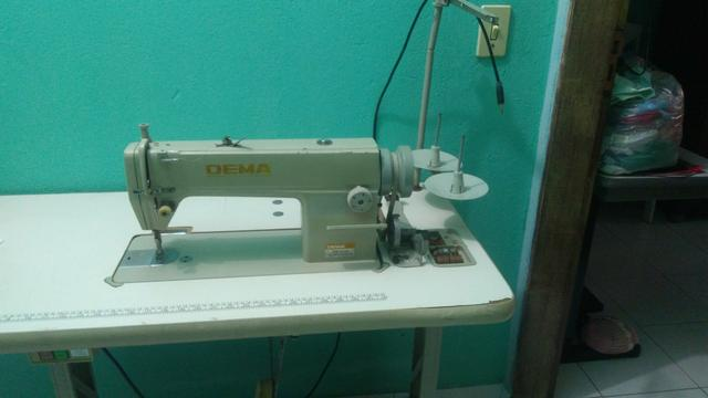 Máquina de costura, (reta industrial)
