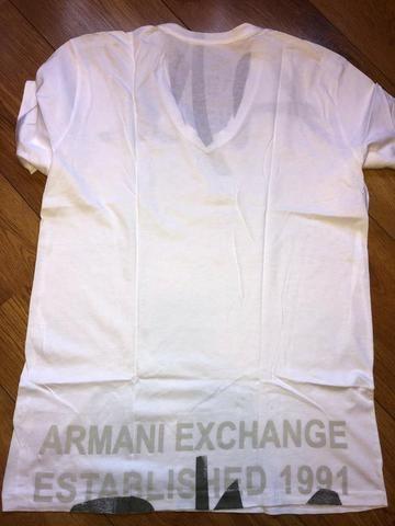Camiseta Armani Exchange Masculina - tamanho G nova e Original