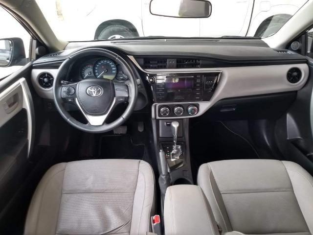 Toyota- Corolla GLI Upper 1.8 Aut. Flex, Ipva 2019 pago, Completo, Garantia até 2020, Novo - Foto 6