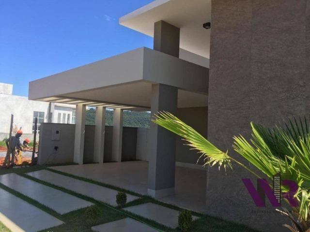 Privilegiada casa á venda, em condomínio fechado, no Gran Royalle - Montes Claros/MG - Foto 20