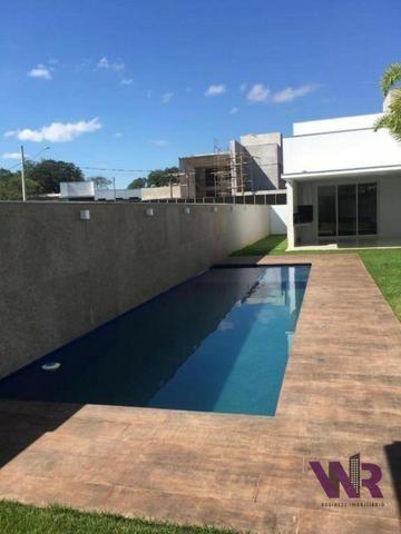 Privilegiada casa á venda, em condomínio fechado, no Gran Royalle - Montes Claros/MG - Foto 3