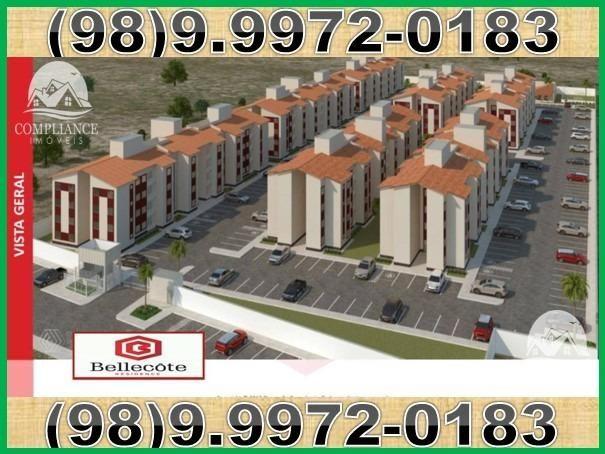 Bellecôte, apartamentos com 2 quartos, 42 a 48 m² Maiobão - São José de Ribamar/MA - Foto 2