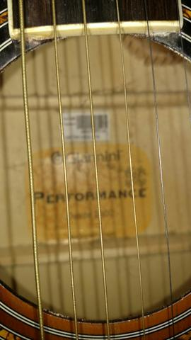 Violão eletroacústico Folk - Foto 2