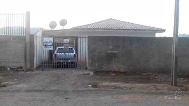 Casa à venda com 2 dormitórios em Jardim carvalho, Ponta grossa cod:1292