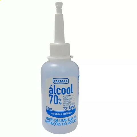 Álcool 70% Farmax 100ml