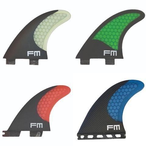 Quilhas de Carbono Fcs, Fcs 2 e Futures Novas Kit Completo