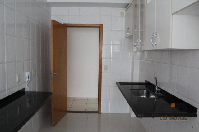Apartamento com 3 dormitórios à venda, 85 m² por r$ 360.000 - alvorada - cuiabá/mt - Foto 18