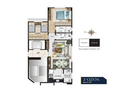 Apartamento à venda com 2 dormitórios em Anchieta, Belo horizonte cod:19040 - Foto 2