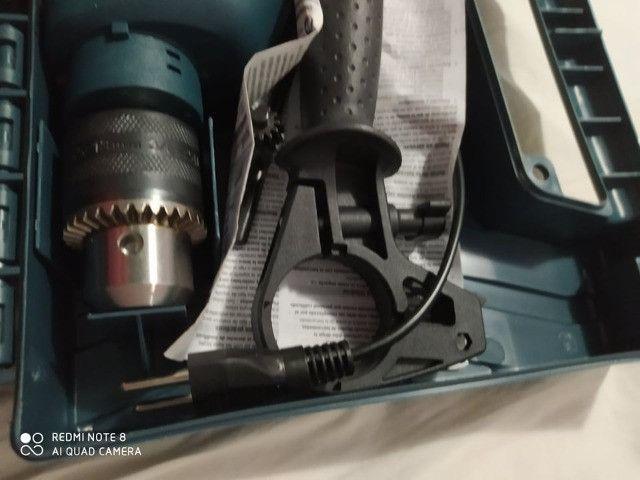 Furadeira de impacto Bosch Gsb Re 550w Com Maleta - Foto 2
