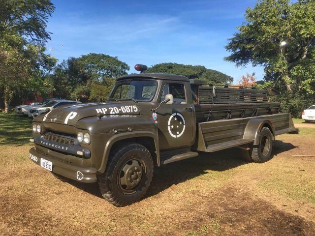 Caminhão Chevrolet 1963 raro impecável - Foto 9