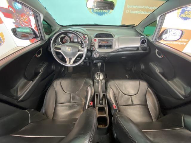 Honda Fit LX 1.4 Automático + Couro - Foto 9