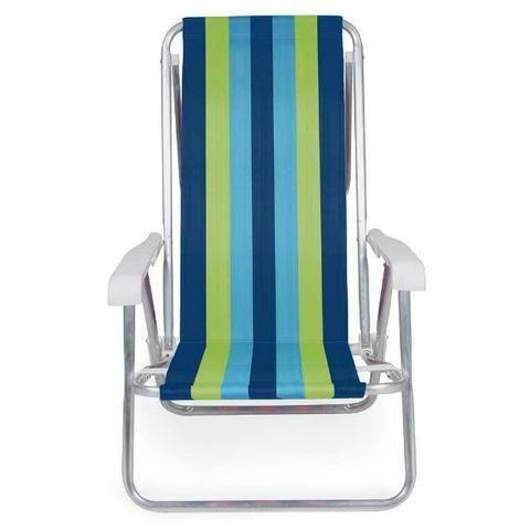 Cadeira Reclinável Alumínio 4 Posições - Mor - Foto 2