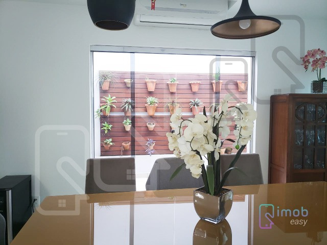 Duplex Condomínio Encontro das Águas, 3 suítes sendo 1 master, semi-mobiliado - Foto 3