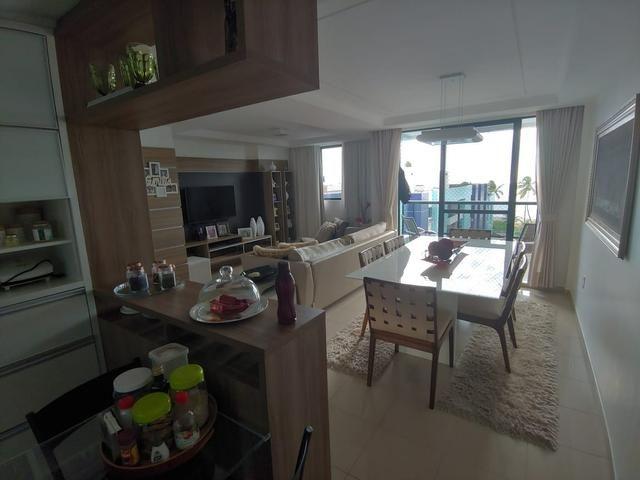 Apartamento 89m na beira mar do Cabo Branco - Foto 14
