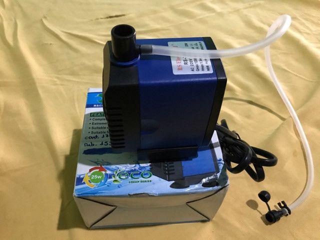 Bomba submersa RS-3500A (ideal para aquário e lagos)