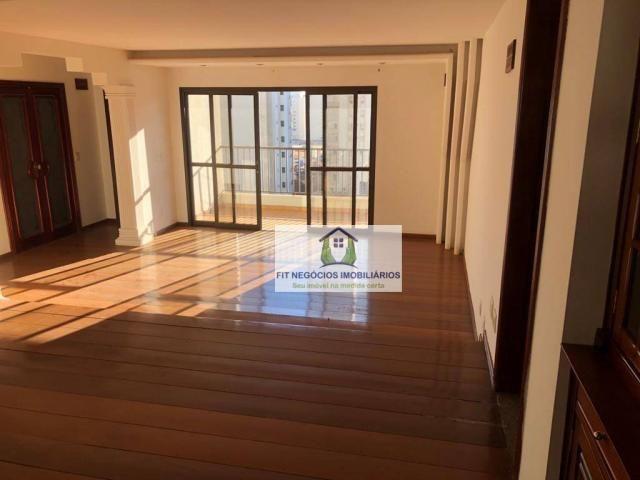 Apartamento com 4 dormitórios para alugar, 190 m² por R$ 2.700/mês - Centro - São José do  - Foto 2