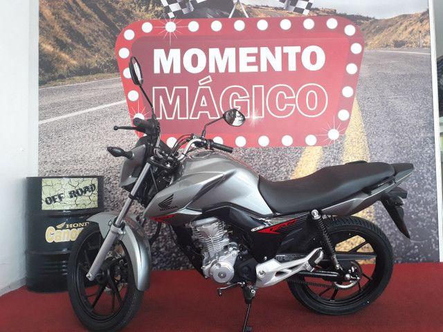 Moto Honda Fan 160 Entrada Financiamento: 1.000 Entrada Consórcio: 196,00. - Foto 4