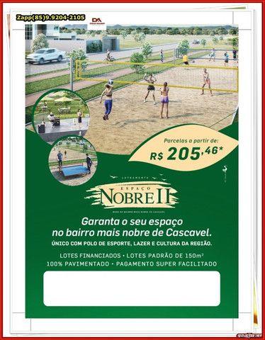 Loteamento Espaço Nobre II . Invista e Ligue.@#@ - Foto 5