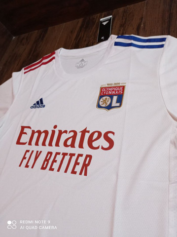 Camisa de time Lyon Adidas tamanho GG - Foto 2