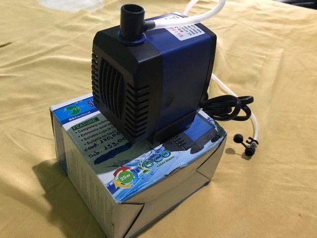 Bomba submersa RS-3500A (ideal para aquário e lagos) - Foto 2
