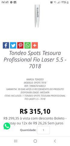 Tesoura tondeo spots.... - Foto 2