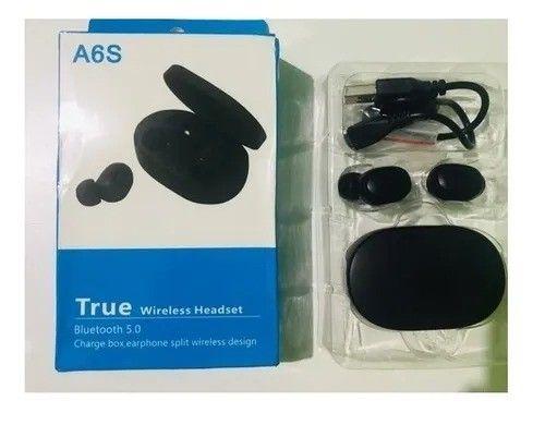 Fone De Ouvido Sem Fio Airdots A6s - Tws - Bluetooth/ Novo e Lacrado - Foto 2